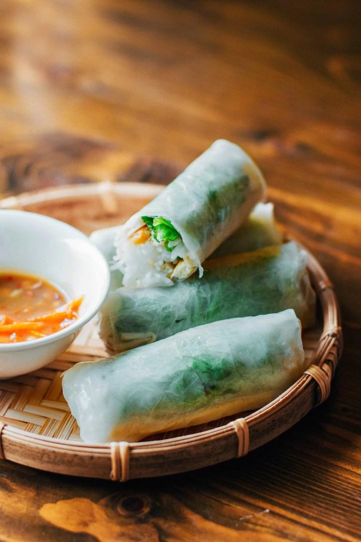 A Guide to Eating Vegan in Viet Nam - Gỏi Cuốn