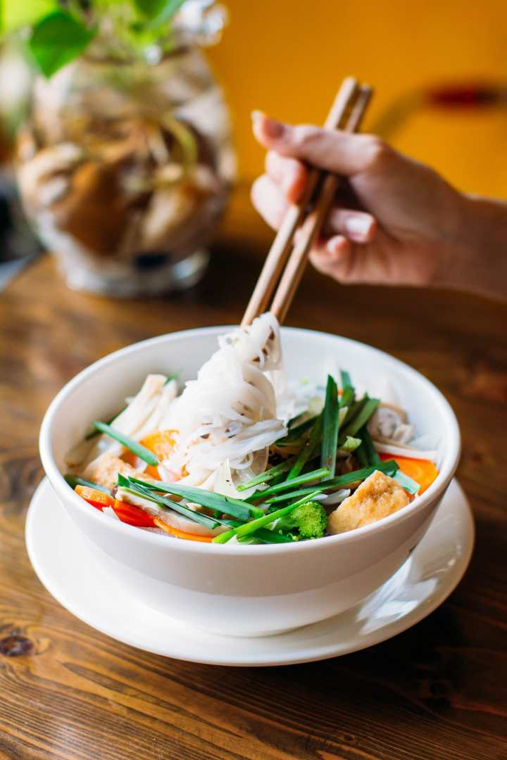 A Guide to Eating Vegan in Viet Nam - Hủ Tiếu