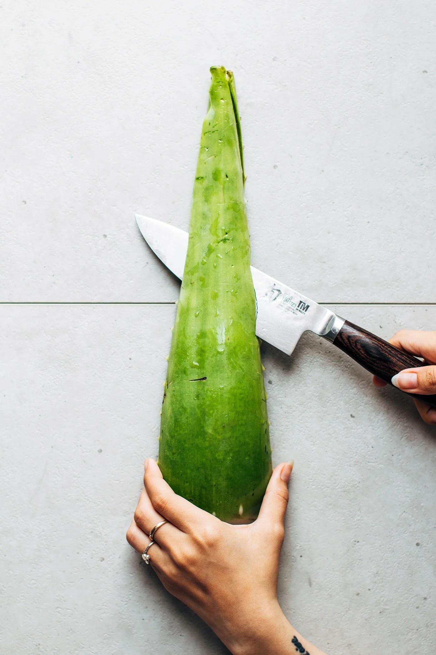 How to Prepare Aloe Vera Jelly