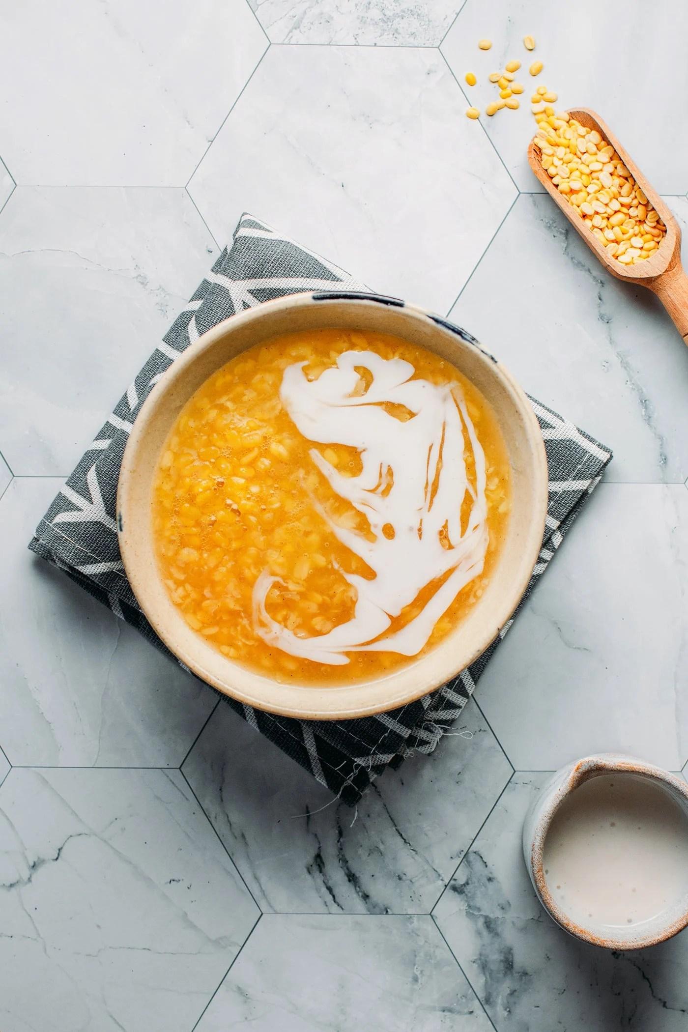 Vanilla Mung Bean Sweet Soup