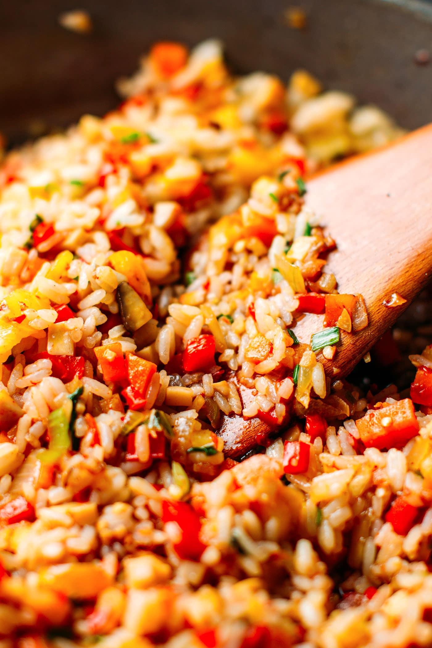 Thai Fried Rice (Sweet & Sour!)