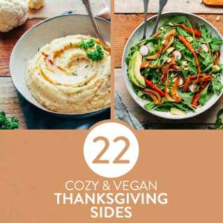 22 Cozy Vegan Thanksgiving Sides
