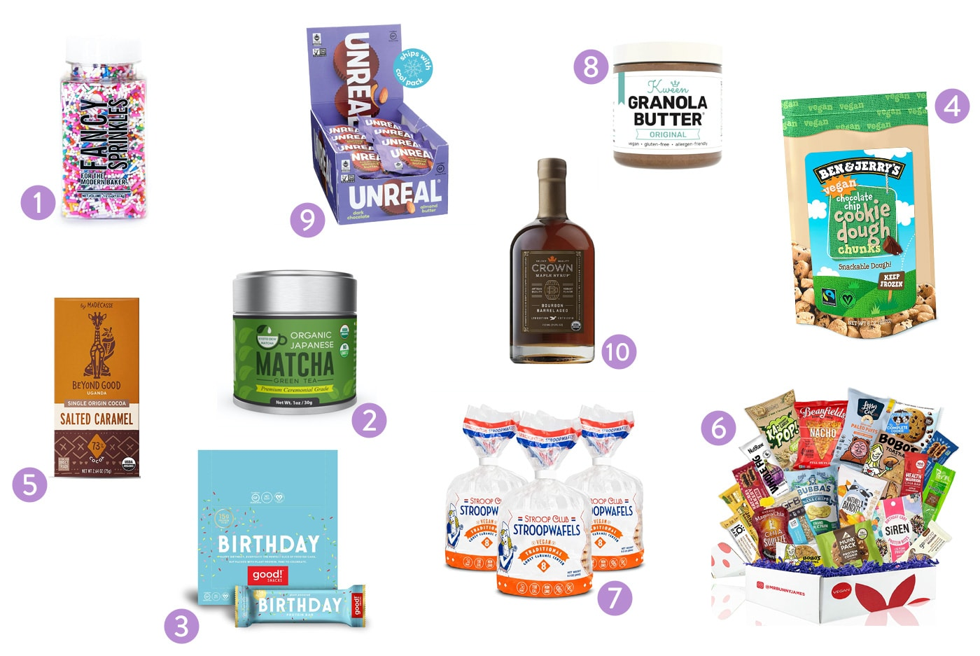 Holiday Gift Guide 2020 - Vegan Food