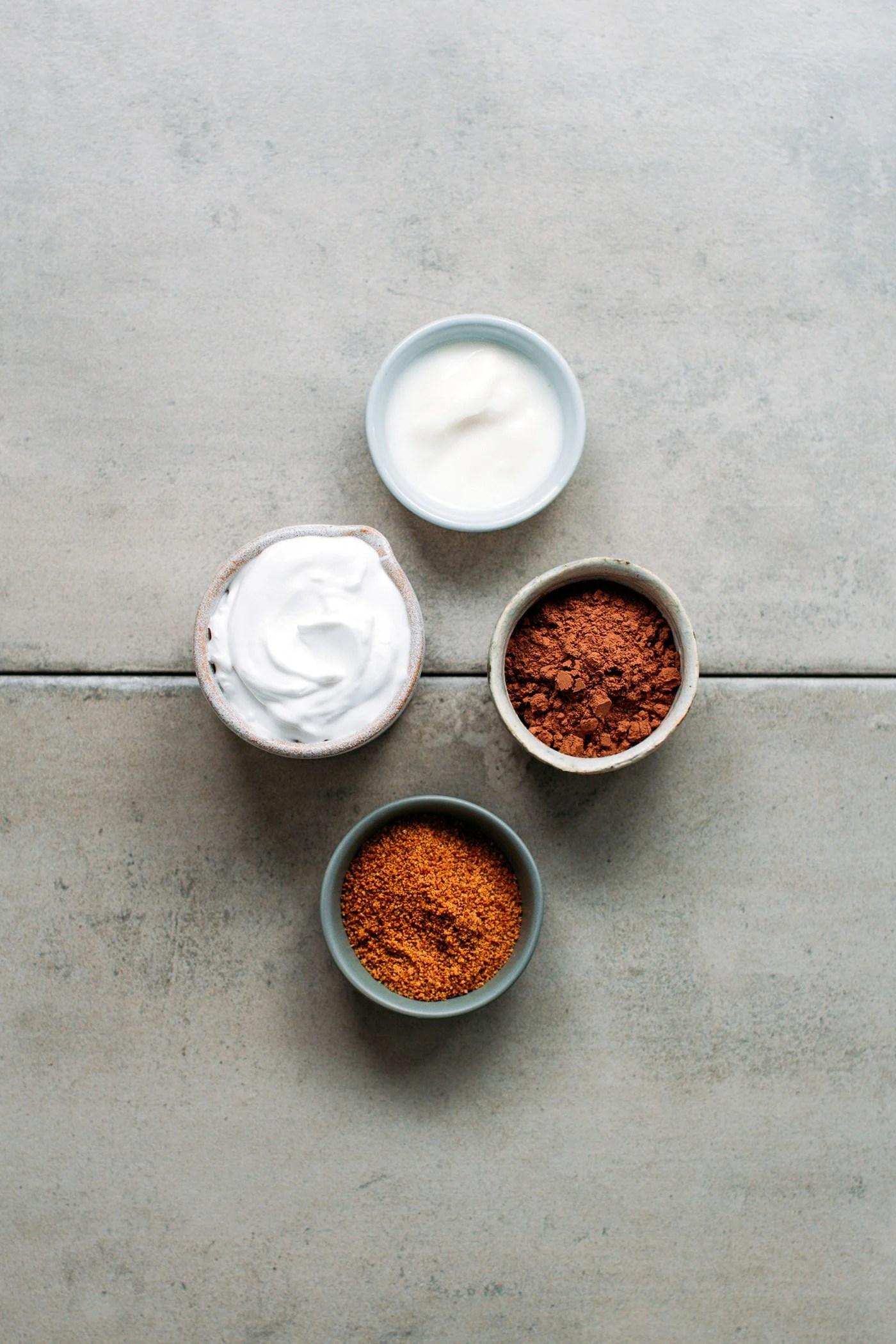 Easy Chocolate Coconut Yogurt