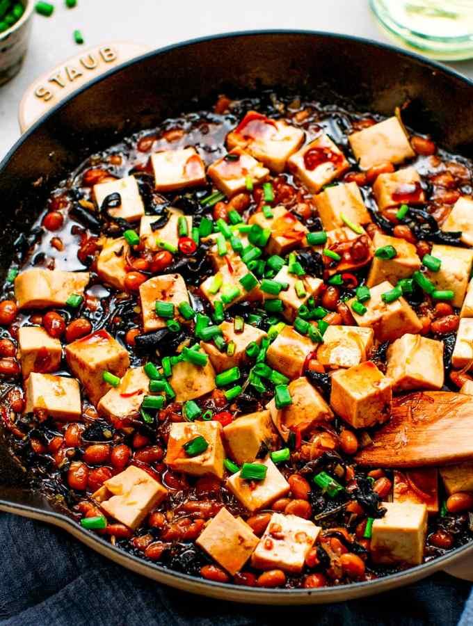 Tofu in Soybean Sauce