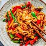 15-Minute Saucy Stir Fry Noodles