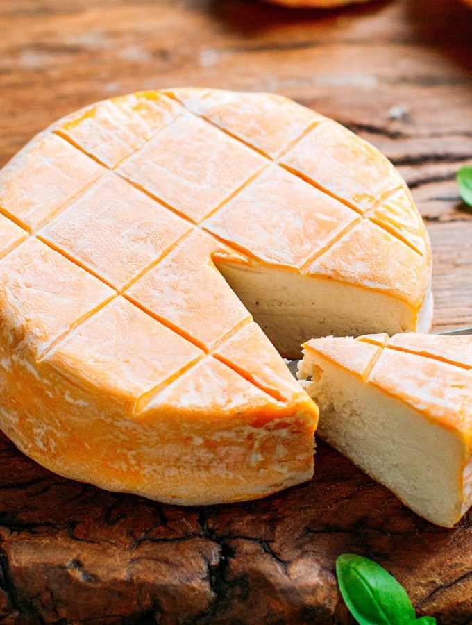 Vegan Washed-Rind Cheese