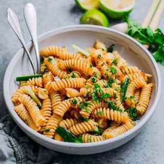 Cilantro & Lemongrass Pasta Salad