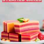 Peanut Butter & Jelly Steamed Cakes