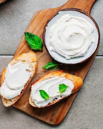 Vegan Fermented Cashew Cream