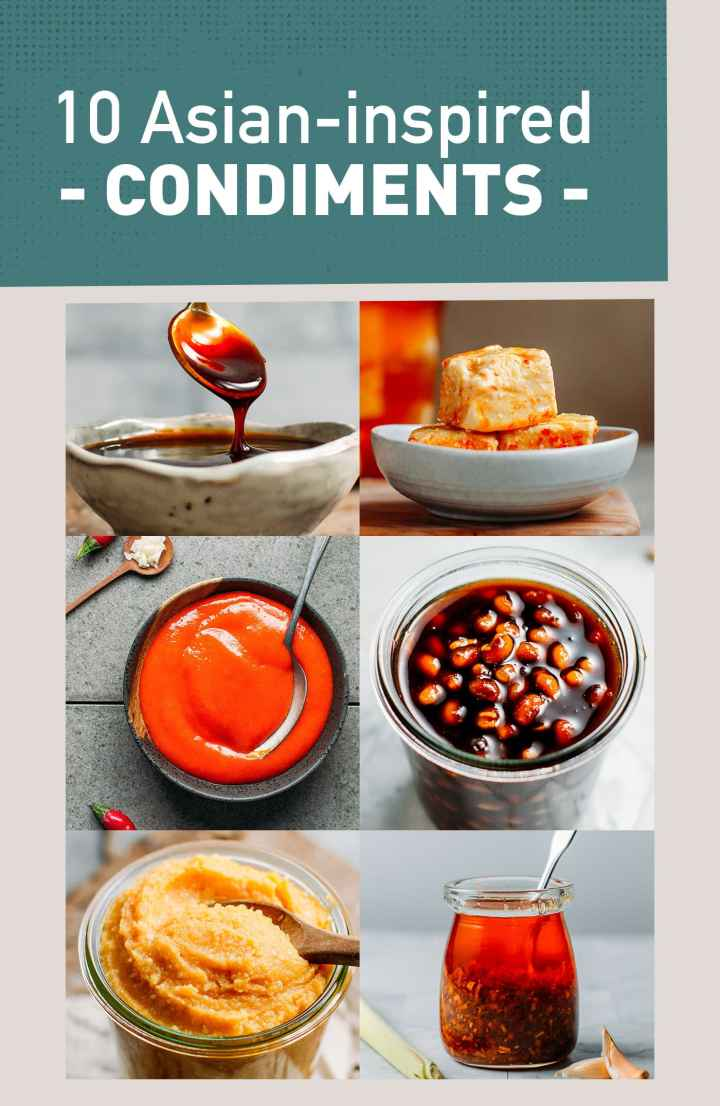 10 Asian-Inspired Condiment Recipes