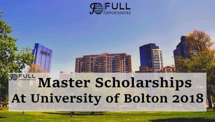 Master Scholarships At University of Bolton