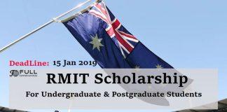 RMIT Scholarship for Undergraduate and Postgraduate Students
