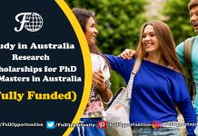 Research Scholarships for PhD & Masters in Australia