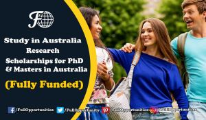 Scholarships in Australia Research Scholarships for PhD & Masters in Australia