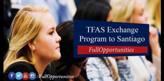 TFAS International Exchange Program 2020 - Santiago