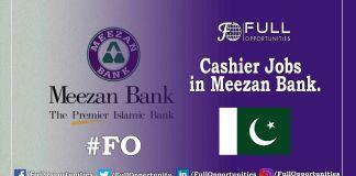 Cashier Jobs in Meezan Bank