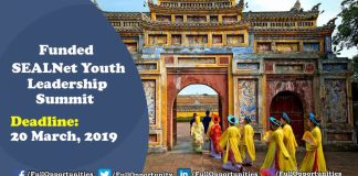 SEALNet Youth Leadership Summit 2019 Program