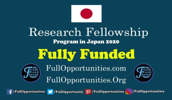 Research Fellowship Program in Japan