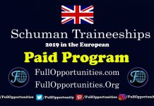 Schuman Traineeships in the European