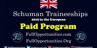 Schuman Traineeships in the European