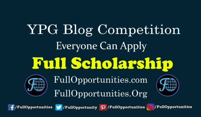 YPG Blog Competition