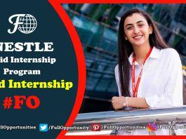 Nestle Internship program