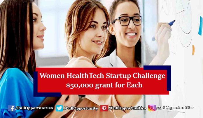 Women HealthTech Startup Challenge Europe 2019
