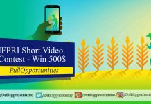 IFPRI Short Video Contest