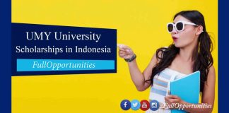 UMY University Scholarships in Indonesia 2020 - BS, MS & PhD