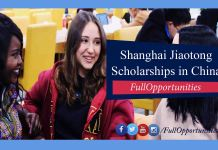 Shanghai Jiaotong Scholarships in China