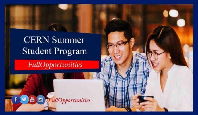CERN Summer Student Program