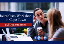 Journalism Workshop in Cape Town