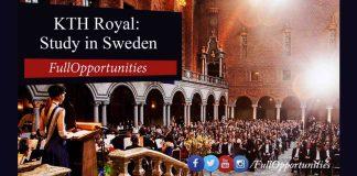 KTH Royal Institute Scholarship