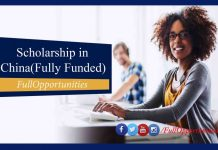 Scholarships in China