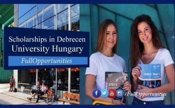 Scholarships in Debrecen University Hungary 2020
