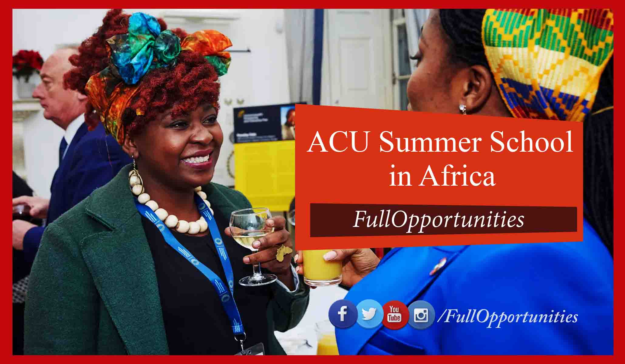 Summer School 2020.Acu Summer School Fully Funded Complete Procedure 2020