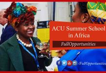 ACU Summer School