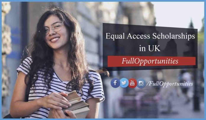 Equal Access Scholarships in University of York UK