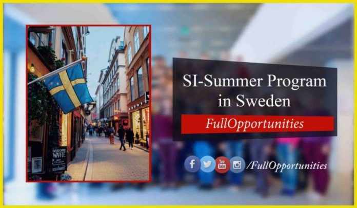 SI Summer Academy for Young Professionals 2020 (Fully Funded)