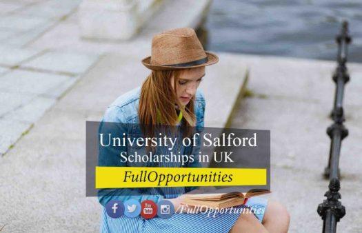 University of Salford Scholarships
