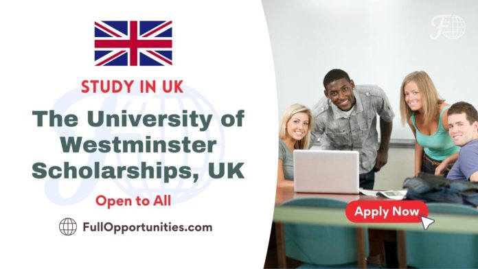 The University of Westminster Scholarships
