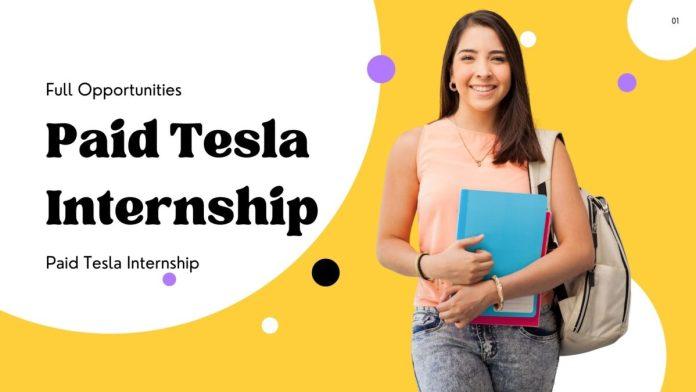 Paid Tesla Internship