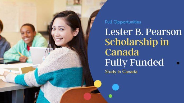 Lester B. Pearson Scholarship in Canada