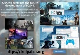 PCSX4 Emulator 2018 Crack With Latest Version