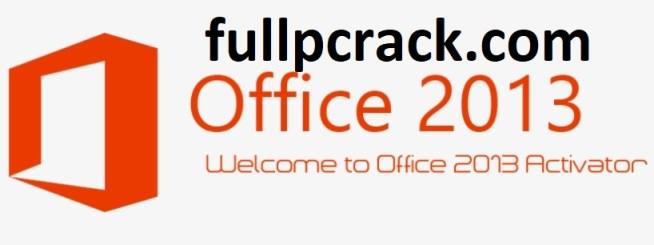 Microsoft Office 2013 Crack Activator Free 2020