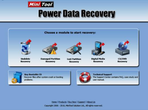 MiniTool Power Data Recovery 9 Crack + Serial Key Latest
