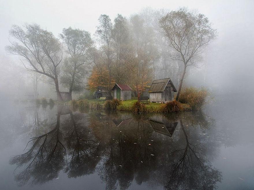 3. Деревня в Венгрии. Фото: Gabor Dvornik.