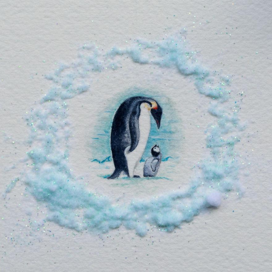 6. Пингвины.