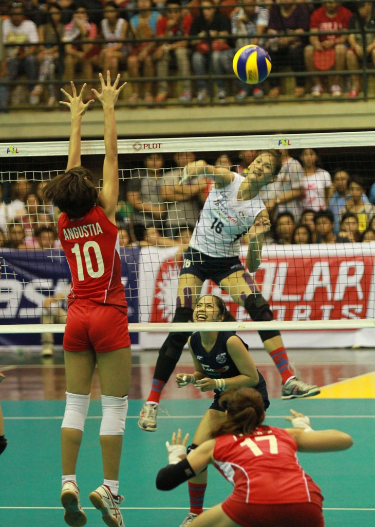Petron's tower of power Dindin Santiago attacks.